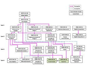 R.E.P Required Course Flow Chart