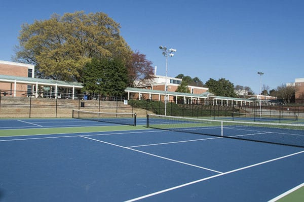 Perimeter College Clarkston campus tennis courts